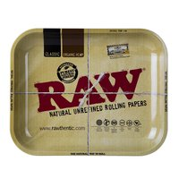 RAW METAL ROLLING TRAY L