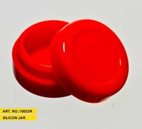 Silikone Wax Jar (Red)