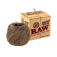 Фитиль RAW Hemp Wick Ball 30m