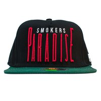 Smokers Paradise Snapback Black/Green