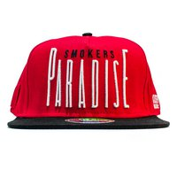 Smokers Paradise Snapback Red/Black