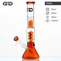 "Grace Glass ""Umber Beaker Twin"" Bong"