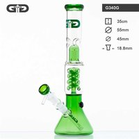 "Grace Glass ""Green Beaker"" Bong"