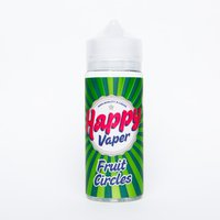HAPPY VAPER FRUIT CIRCLES 120 мл