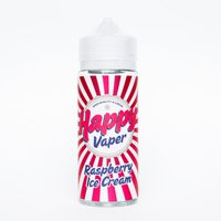HAPPY VAPER RASPBERRY ICE CREAM 120 мл