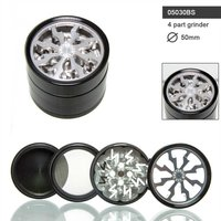 AMSTERDAM XXX THORINDER GRINDER- 4PART- Ø:50MM - WINDOW-