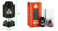 IJOY Limitless RDTA Atomizer - 4ml (black)