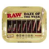 Raw metal rolling tray L - daze