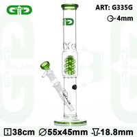 "Grace Glass ""Green Crystal"" Bong"