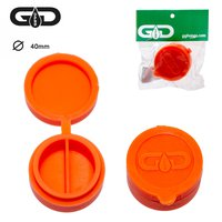 Grace Glass Dabs Silicon Jar- Orange- Ø:40mm