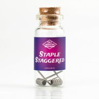Staple Staggered Fused Clapton / 0.08 ohm / для мехмода