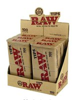RAW pre-rolled tin tips