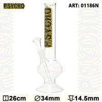 Psycho Bouncer Glass Bong - H:26cm - Ø:34mm - SG:14.5mm