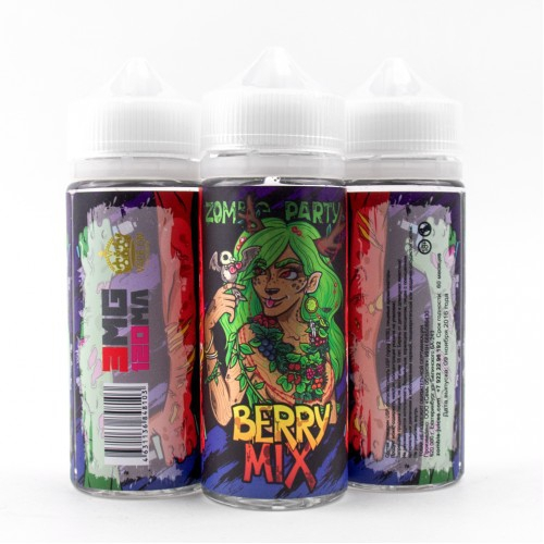 Жидкость Zombie Party 120ml Berry Mix 3mg